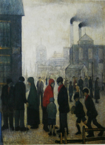 Salford Street Scene (1928) Limited Edition Print