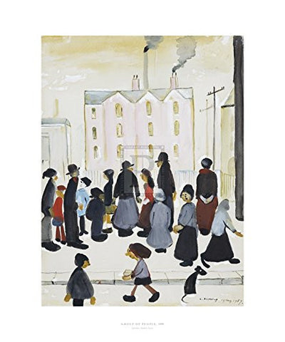 Group Of People (1959) Fine Art Print