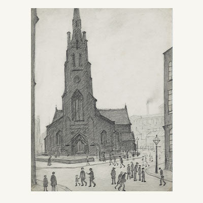 Adopt A Street Scene (St. Simon's Church) (1927)