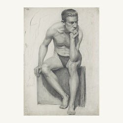 Adopt Seated Male Nude (1914)
