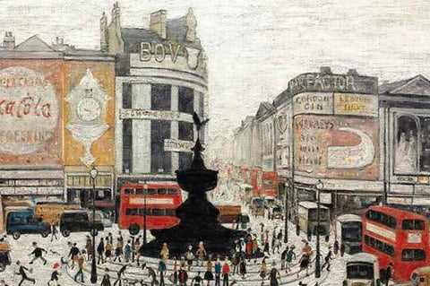 Piccadilly Circus (1960) Fine Art Print