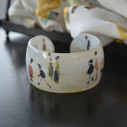 Yachts Acrylic Bangle