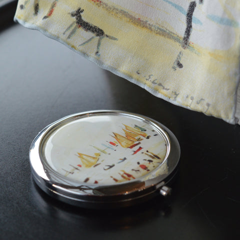"Compact Mirror ""Yachts (1959)"""
