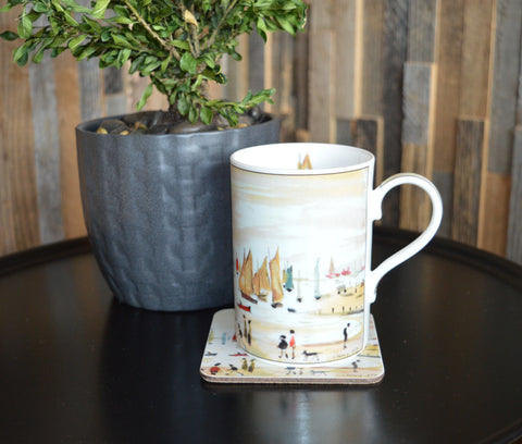 "China Mug ""Yachts (1959)"""