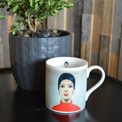 "China Mug ""Portrait Of Ann (1957)"""