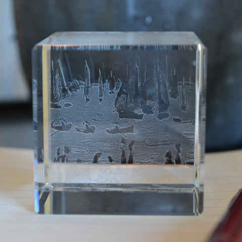 "Glass Cube ""Yachts (1959)"""