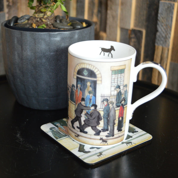 "China Mug ""A Fight (c.1935)"""