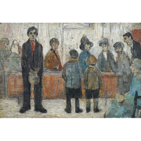 Doctor's Waiting Room (1920) Fine Art Print