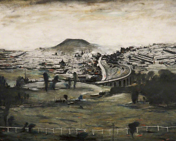 Picture of LS Lowry Bargoed print