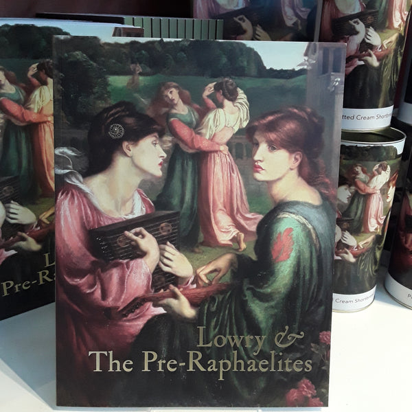 Lowry And The Pre-Raphaelites Exhibition Catalogue