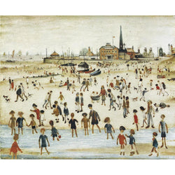Picture of LS Lowry At the Seaside print