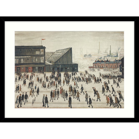 "Framed Print ""Going to the Match (1953)"""