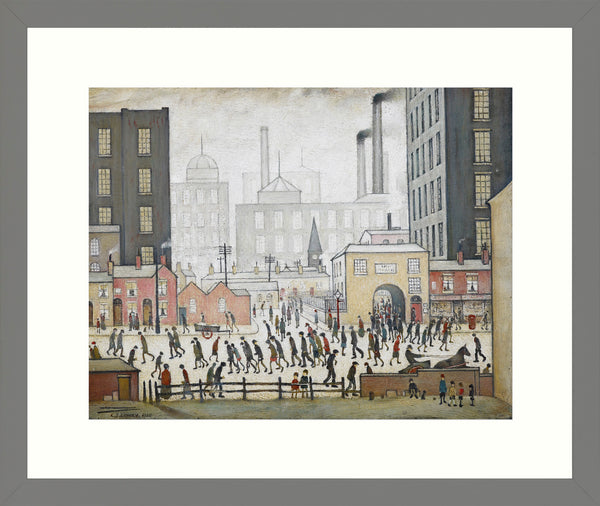 Framed Print Grey Ash: Coming from the Mill 1930