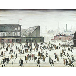 Going To The Match (1953) Fine Art Print