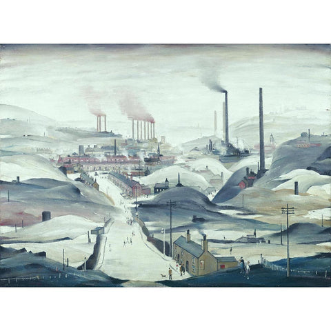 Industrial Panorama (1972) Fine Art Print