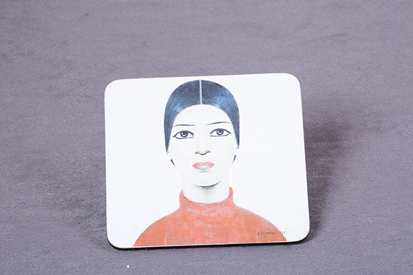 Picture of LS Lowry's 'A Portrait of Ann' Coaster