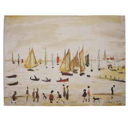 "Tea Towel ""Yachts (1959)"""