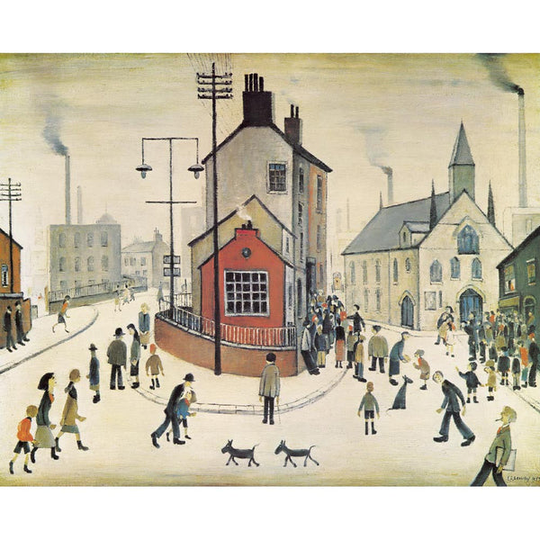 Picture of LS Lowry A Street in Clitheroe print