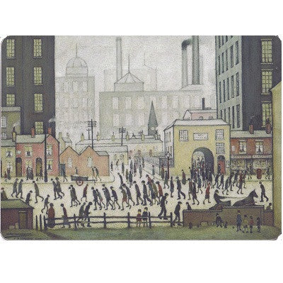 "Placemat ""Coming From The Mill (1930)"""