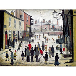 Picture of LS Lowry A Procession print