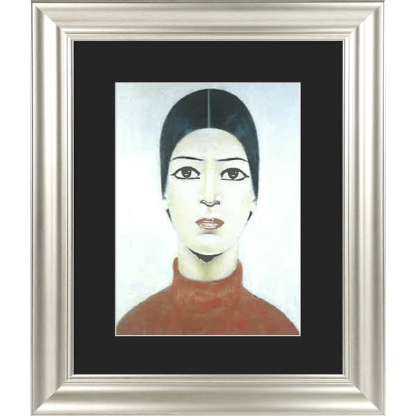 "Framed Print ""Portrait of Ann"""