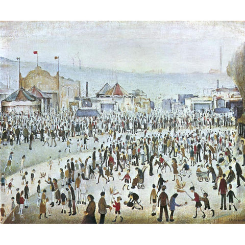 Fair At Daisy Nook (1946) Fine Art Print