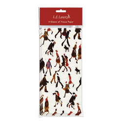 Lowry Tissue Paper - Going to Work