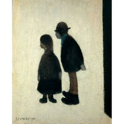 Two People (1962) Fine Art Print