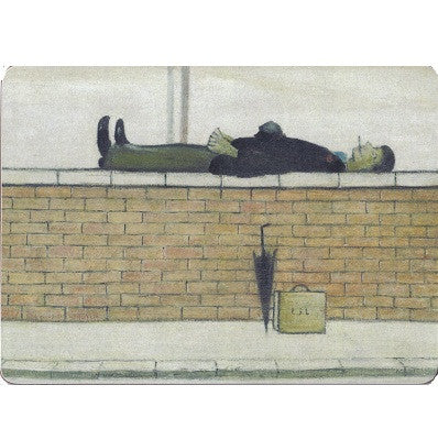 "Placemat ""Man Lying On A Wall (1957)"""