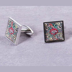 Picture of William Morris 'Wandle' Cufflinks