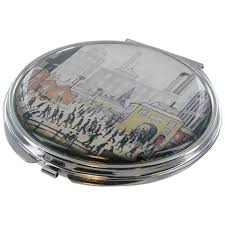 "Compact Mirror ""Coming From The Mill (1930)"""