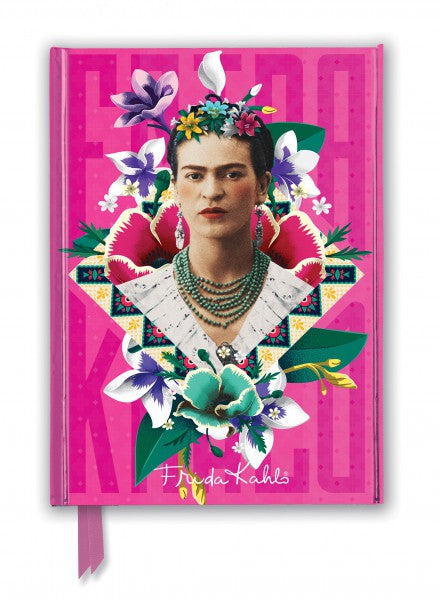 Foiled Journal: Frida Kahlo Pink