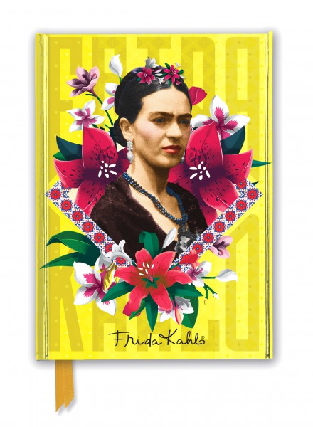 Foiled Journal: Frida Kahlo Yellow