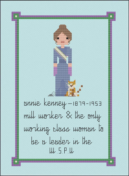 Greetings Card - Annie Kenney