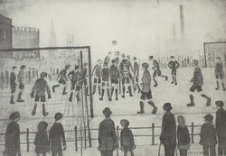 The Football Match (1944) Limited Edition Print
