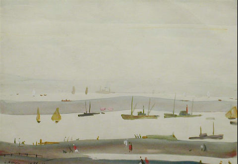 The Estuary (1956) Fine Art Print