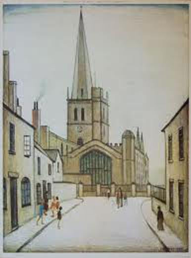 Picture of Burford Church print
