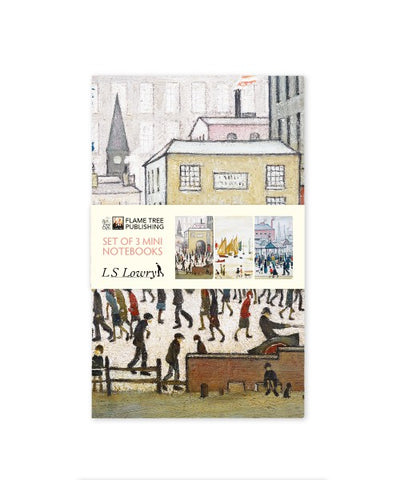 Lowry Notebook - Mini Set of 3