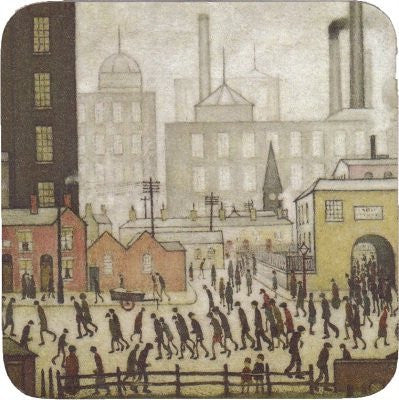 Picture of LS Lowry coaster coming from the mill
