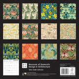 Museum of Domestic Design & Architecture - Silver Studio Collection Wall Calendar 2021