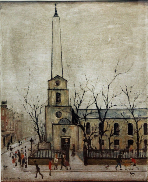 St. Luke's Church (1945) Limited Edition Print