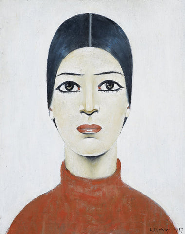 Portrait Of Ann (1957) Fine Art Print
