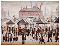 Picture of LS Lowry postcards