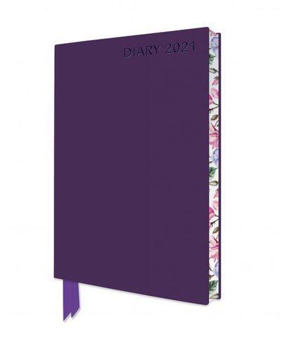 Purple Artisan A6 Diary 2021