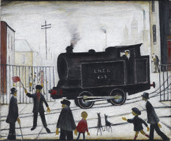 Level Crossing (1946) Fine Art Print
