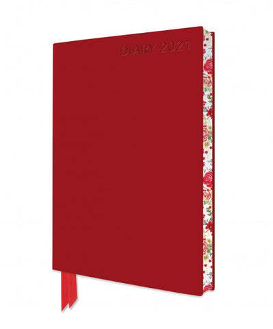 Red Artisan A6 Diary 2021