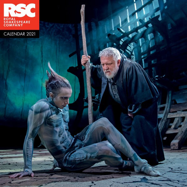 Royal Shakespeare Company - The Comedies Wall Calendar 2021