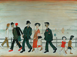 On The Promenade (1935) Fine Art Print