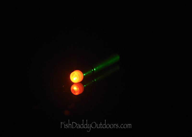 Orange Stick-Flare LED FishDaddy