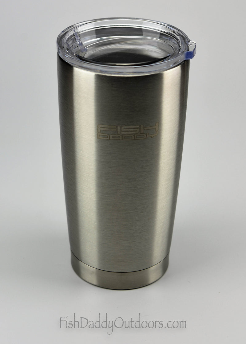 FishDaddy - 20oz - 18/8 Stainless Steel - Vacuum Insulated - Coffee - Tumbler